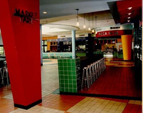 Commercial Marketfair Food Court And New Entrance Princeton Jersey